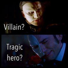 The Phantom: Villain or Tragic Hero?