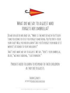 Genius Nugget: Haim Ginott on How We Speak to Children | Cult of Pedagogy