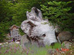 Steve Blanchard Wood Sculpture
