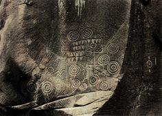 Petroglyphs - Coral Island, lies about 15 miles south of the Island of Santa Catarina off the Brazilian coast.