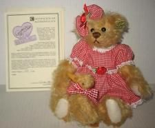 Dolls & Bears Annette Funicello Mohair Bear Sufficient Supply