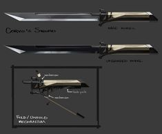 Corvo's Sword
