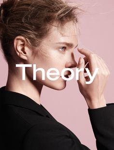 Natalia Vodianova stars in the fall-winter 2015 campaign from Theory