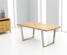 Vetro Oak Dining Table   Mark Harris Collection   Designer, Modern  Contemporary Furniture   Kalusto