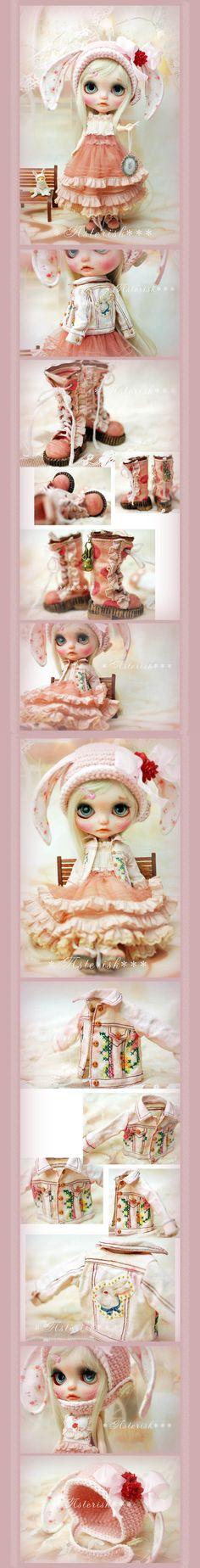 *ブライス アウトフィット Pink Rabbit Set☆-Asterisk*** - ヤフオク!