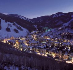 Beaver Creek, Colorado. Equally beautiful winter and summer.