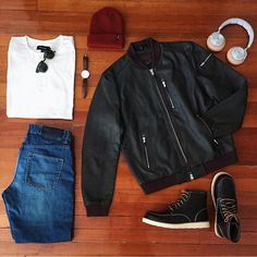 Outfit grid - Cool & collected