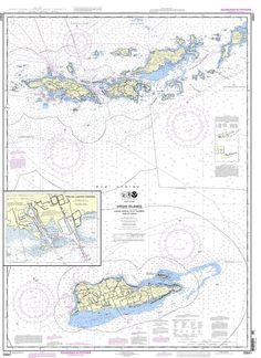 NOAA Nautical Chart 25641: Virgin Islands-Visgin Gorda to St. Thomas and St. Croix;Krause Lagoon Channel