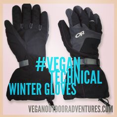 Mountaineer? Ice Climber? Vegan? Find out where to get synthetic technical winter gloves here: http://www.veganoutdooradventures.com/vegan-technical-winter-gloves