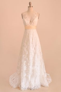 Cap Sleeve Lace Over Satin Wedding Dress |Yalan Wedding Couture |Made to order wedding gowns, bridesmaid dresses,prom dresses and evening gowns www.yalandesign.com  #wedding #weddingdress #weddingdresses