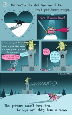 Hero Princess Bear by sebreg.deviantart.com on @deviantART