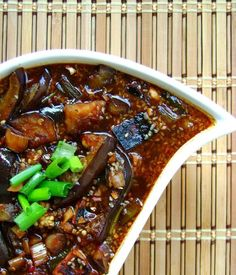 D o you like eggplant? I know there are either 'haters' or 'lovers' in each of us when it comes to eggplant. I love eggplant. My eggplant fa. Chinese Dishes Recipes, Vegetable Recipes, Indian Food Recipes, Asian Recipes, Vegetarian Recipes, Ethnic Recipes, Asian Cooking, Healthy Cooking, Cooking Recipes