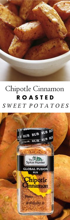 Our chipotle cinnamon roasted sweet potatoes, made with our Chipotle Cinnamon Global Fusion Rub, are bursting with flavor. The best part: they're super simple! https://www.spicehunter.com/recipes/chipotle-cinnamon-roasted-sweet-potatoes/