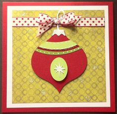 Winter Frolic Christmas Ornament Cards