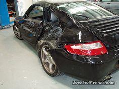 Porsche 911 996 crashed in Melbourne, Australia