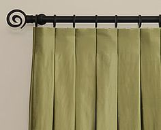 inverted box pleat curtains. Isabella & Max Rooms: If You Don't Want To Tackle A DIY Drapery Project...