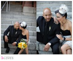 courthouse wedding...what a great idea