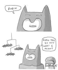 You had one job, Robin...