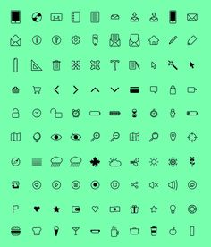 Free Download : Pixel-perfect Icon Set (100 icons – PSD, AI, EPS, PDF)