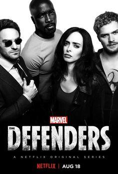 Nuevo póster de The Defenders - Estrenos de Netflix