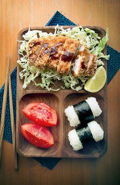 Japanese fried pork, Tonkatsu とんかつ