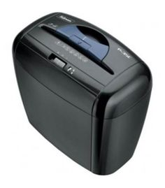 "POWERSHRED P-35C SHREDDER (4X30MM) 120V NAThe Powershred P-35C Cross-Cut Shredder is a reliable deskside shredder for personal use. Patented Safety Lock disables shredder for added safety protection. 1-year product and service warranty plus 3 years on cutters. Shreds 5 sheets per pass into 5/32"""" x 1-1/2"""" cross-cut particles (Security Level 3). 3-gallon bin with easy-empty handle makes waste disposal hassle-free. Dimensions: 12.63""""H x 13.75""""W x 7.88""""D. LIGHT BLUE/DARK BLUE"
