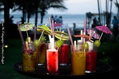 Bons drinks. #captainsbuffet #drinks #instafood #food #wedding #casamento #buzios #buffet