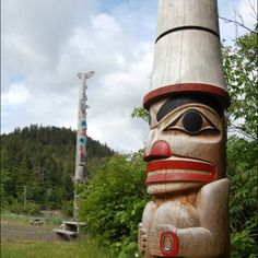 Totems on Haida Gwaii