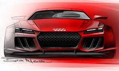 Audi quattro Sport e-tron Concept (IAA 2013) #audiquattro #conceptcars #iaa2013