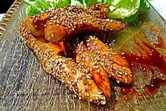 Recette de Aiguillettes de poulet laquées au sésame facile et rapide