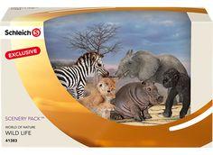 SCHLEICH 41383 WILD ANIMALS