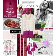 """""""Keep calm and be unstoppable"""" by lizasamoylova on Polyvore"""