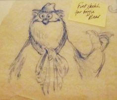 Unseen Muppet Sketches of Michael Frith
