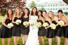 #wedding #bride #bridesmaid #flowers