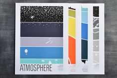 We have these prints.  Brainstorm Earth Science Collection - Atmosphere, Earth, Ocean, Space