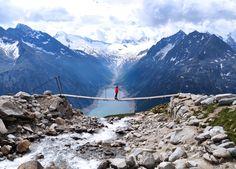 Wanderung zur Kebema Panoramabrücke Der Bus, Mount Everest, Wordpress, Mountains, Instagram, Nature, Travel, Mayrhofen, Stone Steps