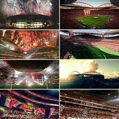"Faz hoje 13 anos que o Estádio da Luz foi inaugurado.⚪🔴 ➡Estádio do Sport Lisboa e Benfica, Catedral, ou simplesmente ESTÁDIO DA LUZ!❤ ➡""Home is where your heart is"" ❤😍 @SLBenfica  #CarregaBenfica #EstadioDaLuz #OMaiorDePortugal #SejaOndeFor #InfernoDaLuz #Catedral #Luz13 #AmoTeBenfica #benficamcmiv"