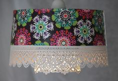 Hanging Pendant Lace Light Fixture Hardwired by mysecretlite