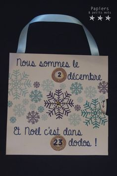 {DIY} Les dodos de l'avent - Upload Box Christmas Countdown, Diy Christmas Gifts, Christmas Time, Xmas, Diy And Crafts, Crafts For Kids, Theme Noel, Practical Gifts, Unusual Gifts