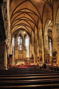 Kostol sv. Jakuba_oltár_Levoča