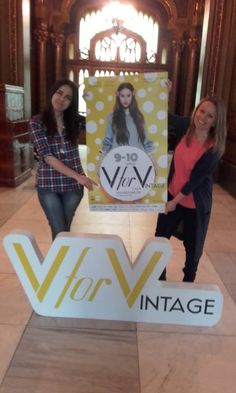"Am ajuns la ""V"" for Vintage. :)"