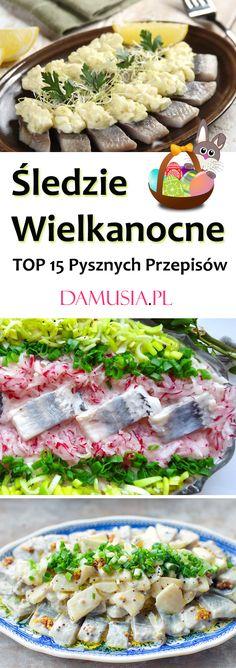 TOP 15 Pysznych Przepisów na Śledzie Wielkanocne Food Cakes, Fish Dishes, Cake Recipes, Chicken, Design, Descendants, Cakes, Easy Cake Recipes, Kuchen