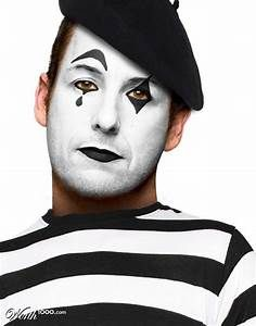 25+ best ideas about Mime makeup on Pinterest | Mime ...