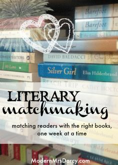 """Answering the dreaded question: """"what do I read next?"""" by matching readers with the right books, one week at a time."""