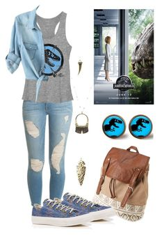 Designer Clothes, Shoes & Bags for Women Summer Outfits, Casual Outfits, Cute Outfits, Jurassic Park Party, Theme Park Outfits, Fandom Fashion, Fandom Outfits, Summer Shirts, Frame Denim