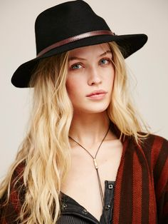 Rolling Hills Rancher    Western-inspired wool rancher style hat