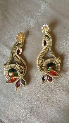 Earring soutache by gioiElibere