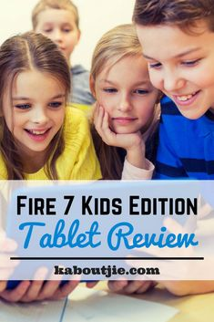 Fire 7 Kids Edition Tablet Review  The Fire 7 Kids Edition Tablet is a hugely popular kids tablets with many amazing features that are hard to ignore. Here's all you need to know in this Fire 7 Kids Edition Tablet Review:    #guestpost #fire7kidseditiontablet #kidstablet