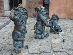 ポーランド POLSKA POLAND Wrocław city - Dwarfs with disabilities