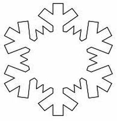 Printable Snowflake Template | Free Printable Snowflake Templates Large Small Stencil Patterns